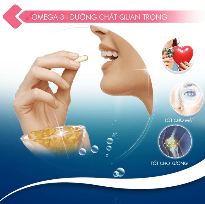 Dầu cá Omega 3 Natural Gift Fish Oil (100 viên/hộp)   GS SHOP