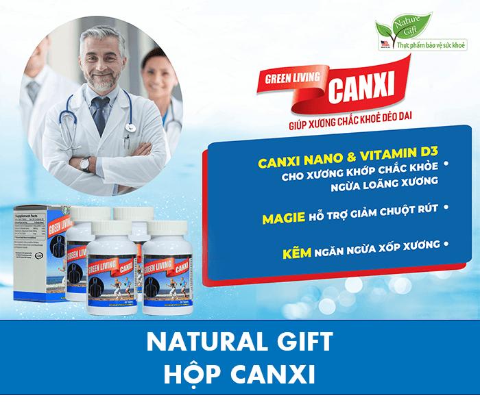 Thực phẩm bảo vệ sức khỏe Nature Gift Green Living - Bổ sung Canxi | GS SHOP