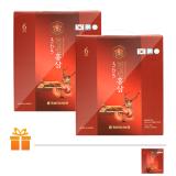 Bộ 2 Hộp Nước Hồng Sâm Nhung Hươu 365 HANSUSAM (70ml x 60 gói/Hộp)   TẶNG: 1 Hộp Nước Hồng Sâm Hansusam cùng loại