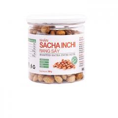 Combo 6 hũ Sacha Inchi Rang Sấy Bazan Nuts 200g/hũ | TẶNG:  1 Hũ Sacha Inchi Vị phô mai 100gr & 1 Chai dầu ăn Sachi 250gr