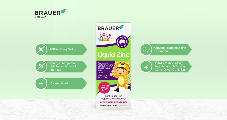 Brauer Baby Kids Liquid Zinc