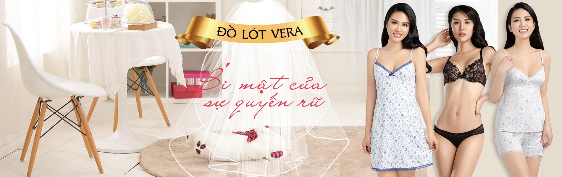 Đồ lót Vera khuyến mãi khủng
