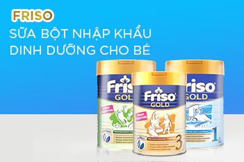 [VGS SHOP] Friso - Dinh dưỡng tối ưu cho bé