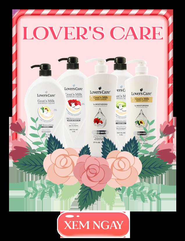 [GS SHOP] Lover's Care